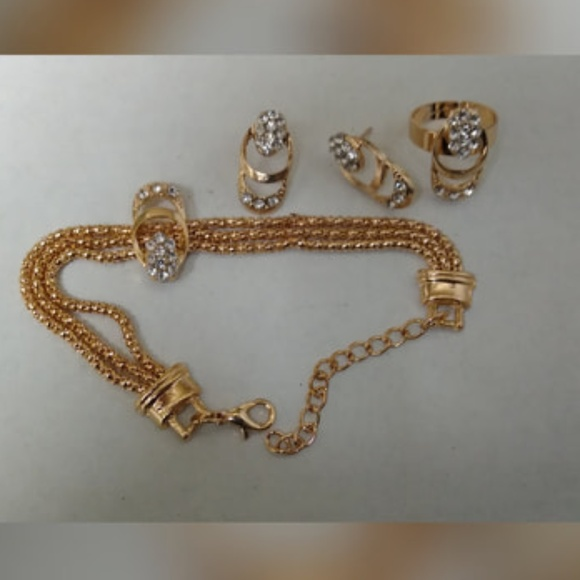 Jewelry - Gold Plated New Fashion Jewelry Set